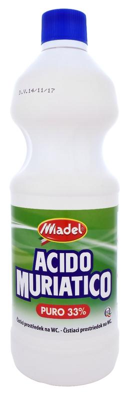 Čisticí prostředky - MADEL ACIDO MURIATICO 33% 1000 ml čistič WC