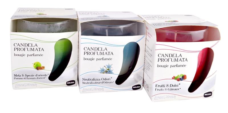 Doplňky do domácnosti - CANDELA PROFUMATA s vůní ovoce 120 g svíčka