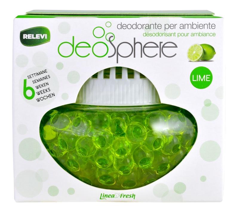 Doplňky do domácnosti - DEOSPHERE Lime 110 g osvěžovač vzduchu