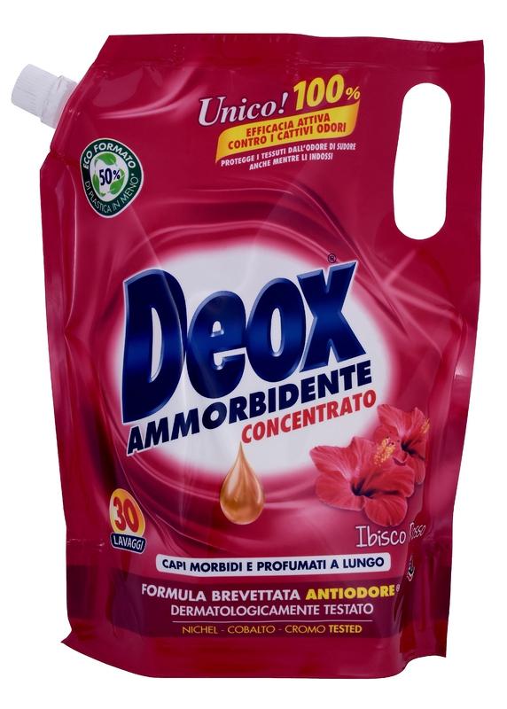 Prací prostředky - DEOX AMMORBIDENTE Ibisco Rosso 750 ml aviváž