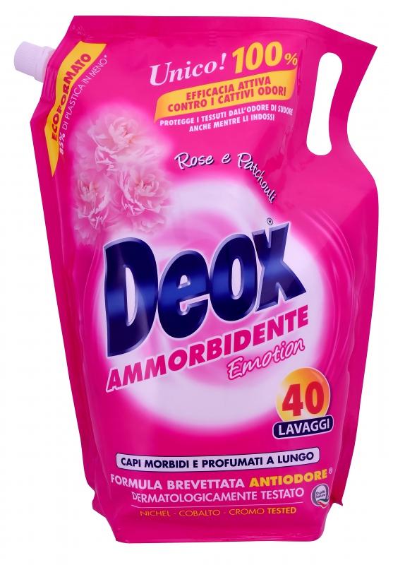 Prací prostředky - DEOX AMMORBIDENTE Emotion 2000 ml aviváž