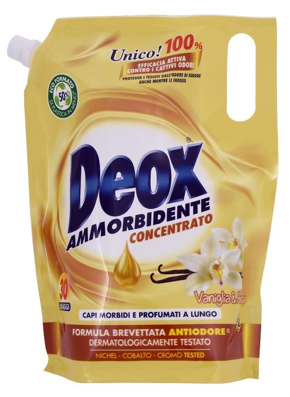 Prací prostředky - DEOX AMMORBIDENTE VANIGLIA E ARGAN Ecoformato 750 ml