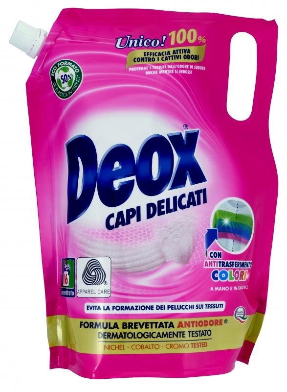 Prací prostředky - DEOX CAPI DELICATI Ecoformato 800 ml prací gel