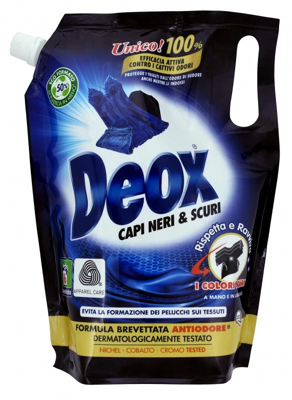 Prací prostředky - DEOX CAPI NERI & SCURI Ecoformato 800 ml prací gel