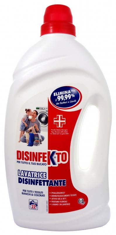 Prací prostředky - DISINFEKTO Dezinfekční prací gel 1320 ml