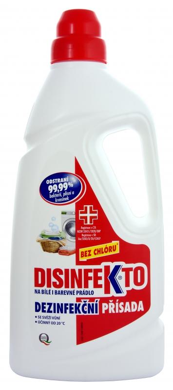 Prací prostředky - DISINFEKTO 1000 ml dezinfekční přísada
