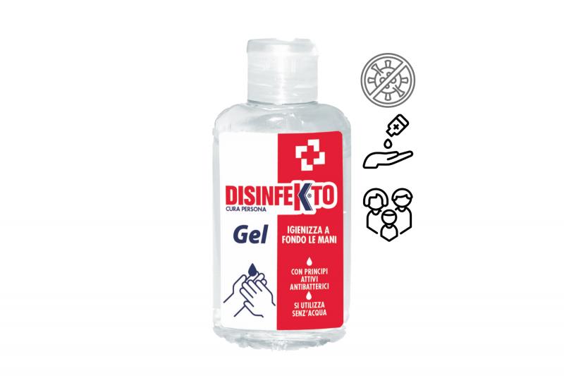 Kosmetika - DISINFEKTO Gel 100 ml alkoholový gel na ruce