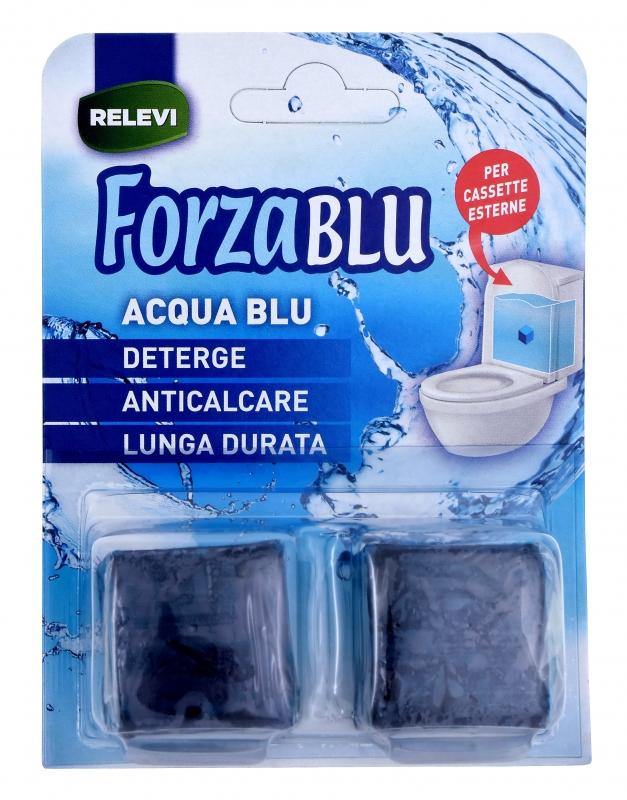 Čisticí prostředky - FORZA BLU ACQUA BLU 2x50 g tablety na WC