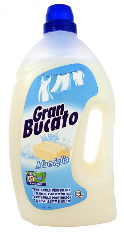 Prací prostředky - GRAN BUCATO LAVATRICE MARSIGLIA 2475 ml prací gel
