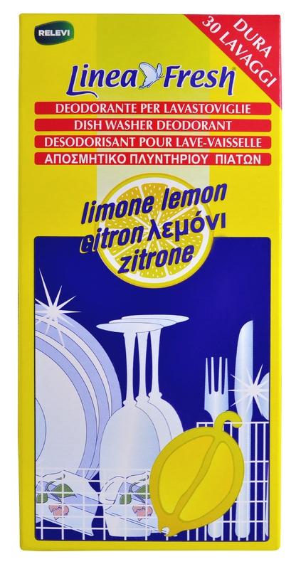Mycí prostředky - LINEA FRESH DISH WASHER DEODORANT Lemon