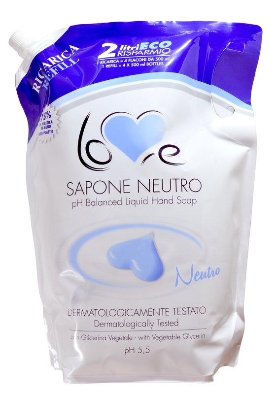 Kosmetika - LOVE SAPONE CREMOSO NEUTRO 2000 ml mýdlo