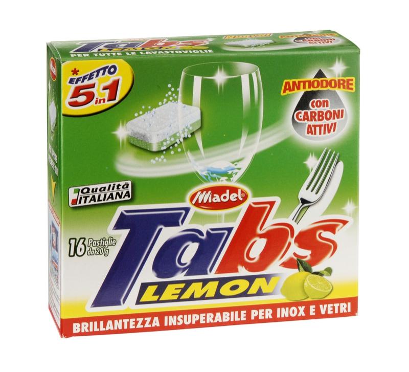 Mycí prostředky - MADEL TABS LAVASTOVIGLIE 5 in 1 tablety do myčky