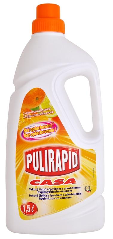 Čisticí prostředky - PULIRAPID CASA s vůní citrusu 1500 ml čistící prostředek