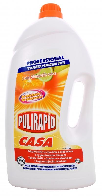Profesionální - PULIRAPID CASA AGRUMI 5l čistič na tvrdé povrchy