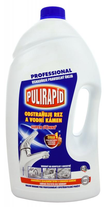 Profesionální - PULIRAPID CLASSICO 5l odstraňovač vodního kamene