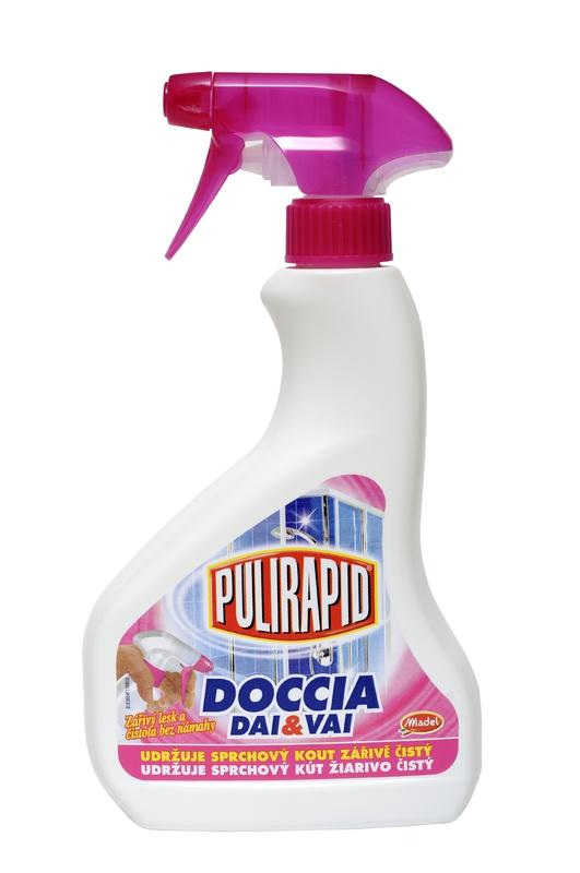 Čisticí prostředky - PULIRAPID DOCCIA 500 ml čistič na sprchy a obklady