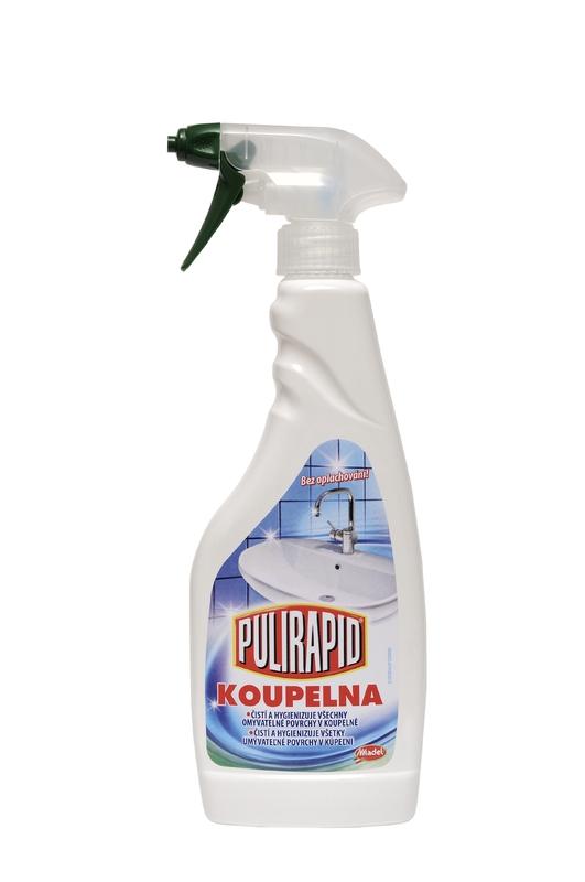 Čisticí prostředky - PULIRAPID KOUPELNA 500 ml čistič koupelen