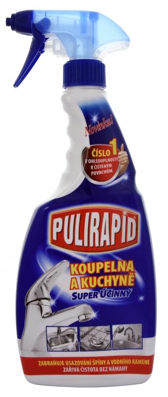 Čisticí prostředky - PULIRAPID KOUPELNA A KUCHYNĚ 500 ml