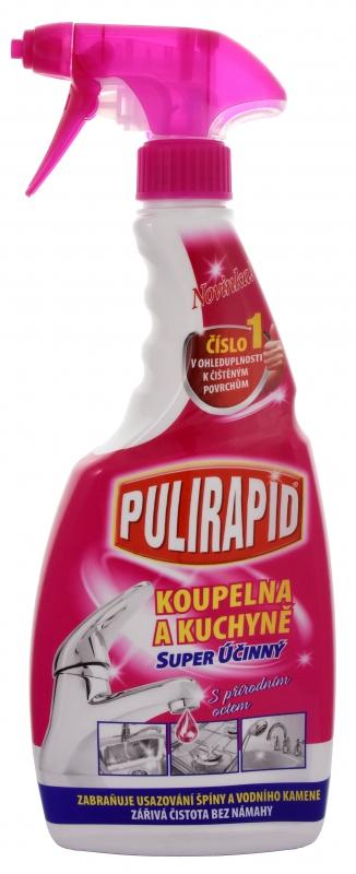 Čisticí prostředky - PULIRAPID KOUPELNA A KUCHYNĚ s přírodním octem 500 ml