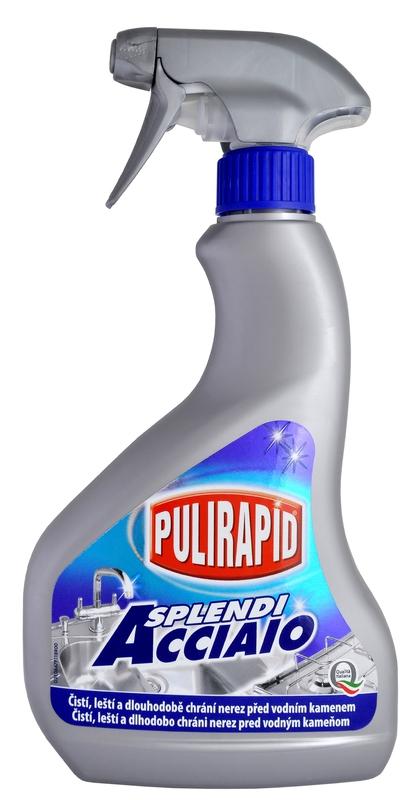 Čisticí prostředky - PULIRAPID SPLENDI 500 ml čistič na nerez