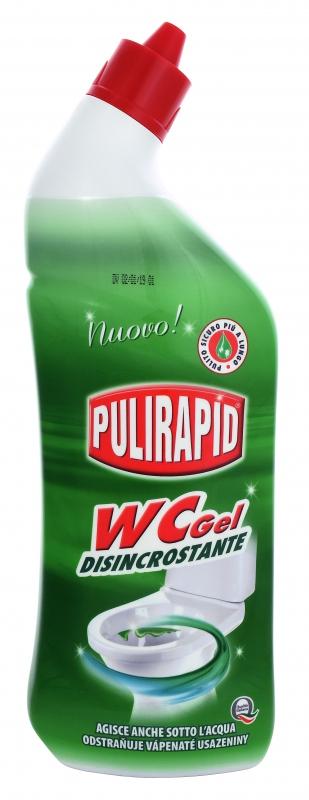 Čisticí prostředky - PULIRAPID WC GEL 750 ml čistič WC