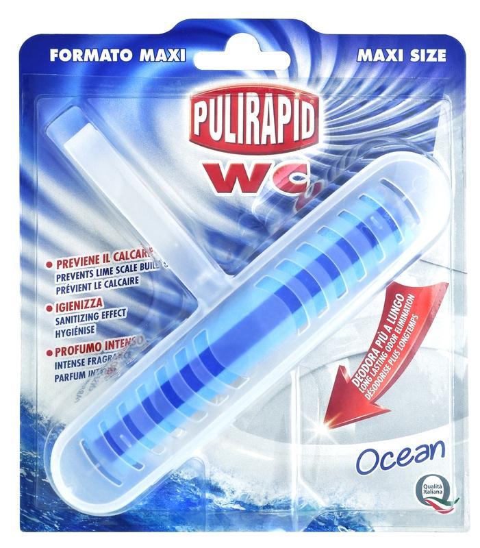 Čisticí prostředky - PULIRAPID WC ZÁVĚS OCEAN 1KS