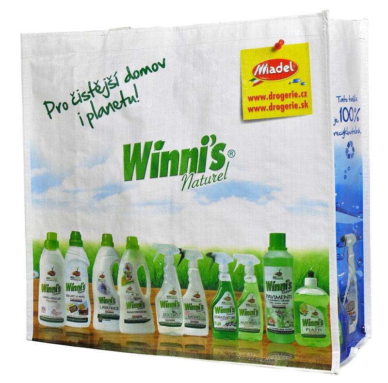 Doplňky do domácnosti - Recyklovatelná taška WINNIS