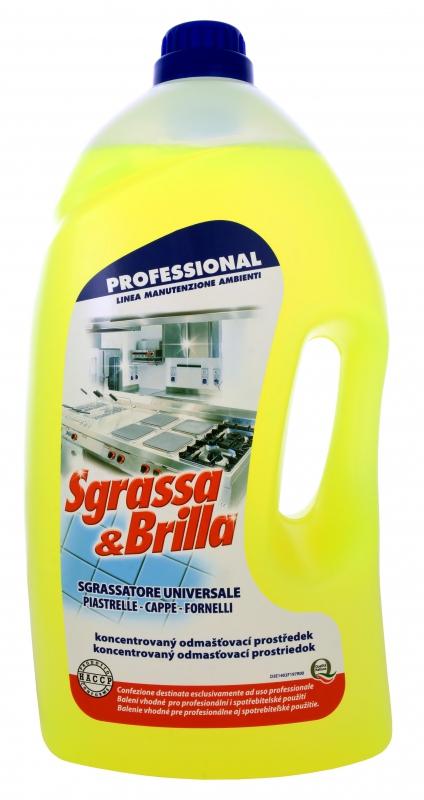 Profesionální - SGRASSA BRILLA UNIVERSALE 5l odmašťovač