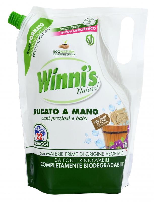 Prací prostředky - WINNI'S BUCATO A MANO Ecoformato 814 ml prací gel