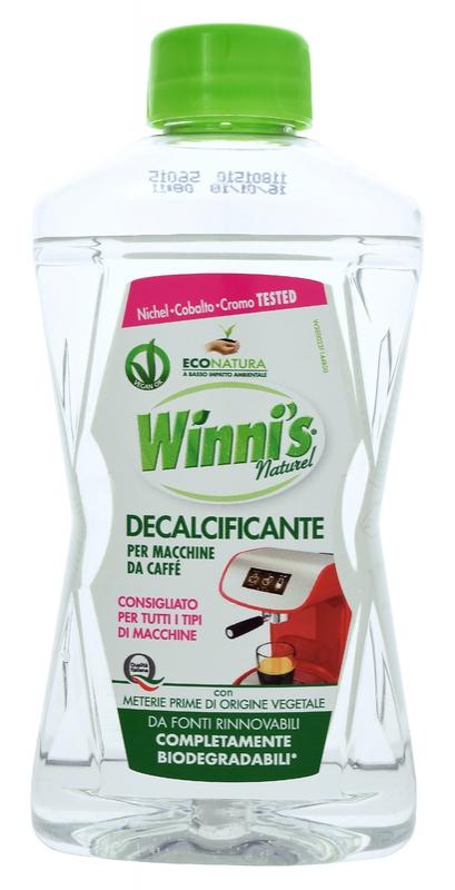 Čisticí prostředky - WINNI´S DECALCIFICANTE 250 ml odvápňovač kávovarů