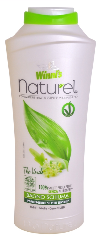 Bio kosmetika - WINNI´S NATUREL BAGNOSCHIUMA THE VERDE 500 ml
