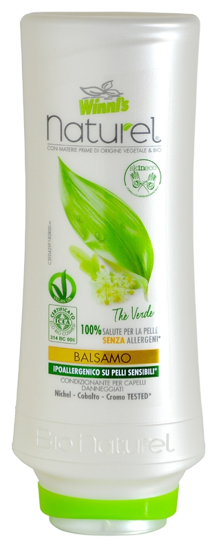 Bio kosmetika - WINNI´S NATUREL zelený čaj 250 ML balzám