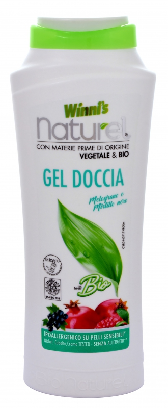 Bio kosmetika - WINNI´S NATUREL GEL DOCCIA MELOGRANO 250 ML