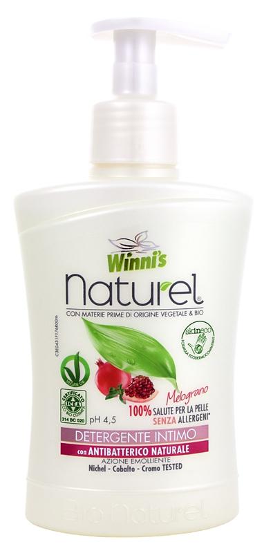 Bio kosmetika - WINNI´S NATUREL granátové jablko 250 ML intimní mýdlo