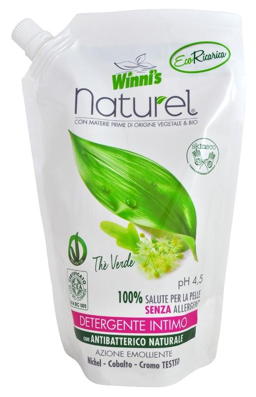 Bio kosmetika - WINNI´S NATUREL zelený čaj 500 ML intimní mýdlo