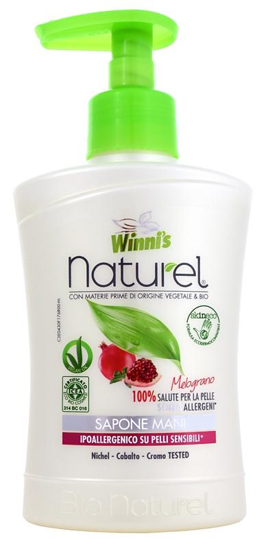 Bio kosmetika - WINNI´S NATUREL granátové jablko 250 ML tekuté mýdlo
