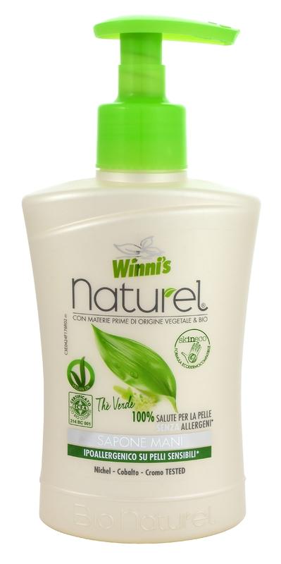 Bio kosmetika - WINNI´S NATUREL zelený čaj 250 ML tekuté mýdlo