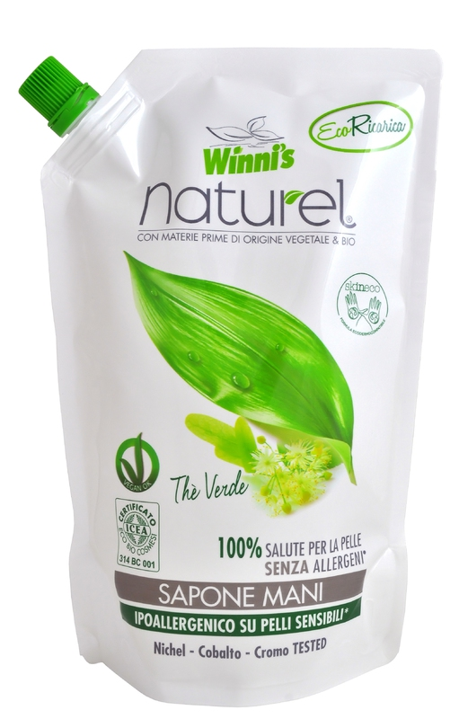 Bio kosmetika - WINNI´S NATUREL zelený čaj 500 ML tekuté mýdlo