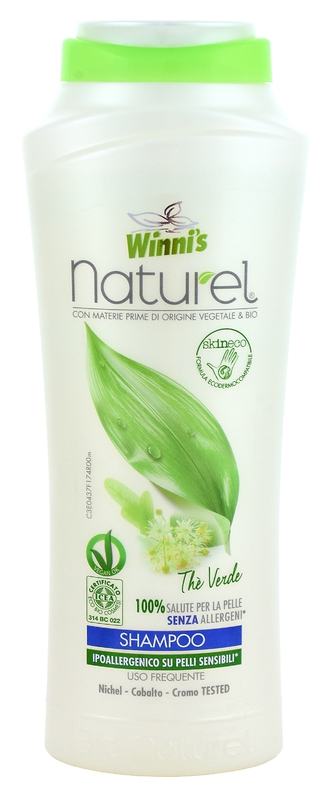 Bio kosmetika - WINNI´S NATUREL SHAMPOO THE VERDE 250 ML