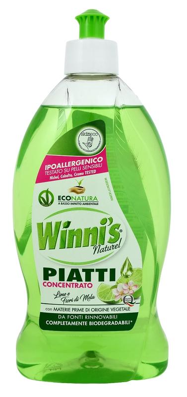 Mycí prostředky - WINNI´S Piatti Lime 500 ml prostředek na nádobí