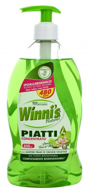 Mycí prostředky - WINNI´S Piatti Lime 610 ml prostředek na nádobí