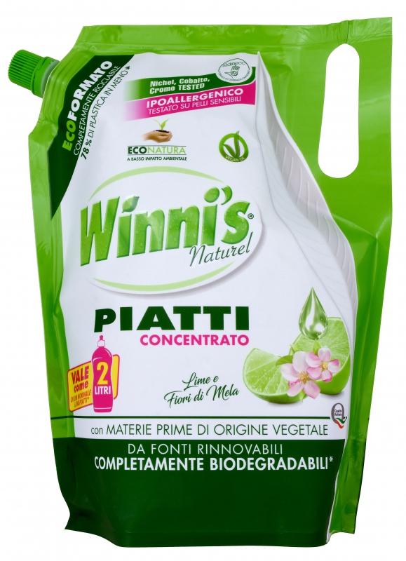 Mycí prostředky - WINNI´S PIATTI LIME 1000 ml prostředek na nádobí