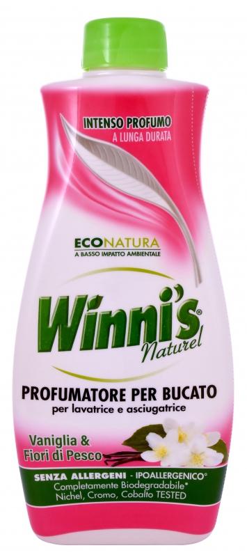 Prací prostředky - WINNI´S Profumatore per Bucato Vaniglia & Fiori di Pesco 250 ml parfém na prádlo